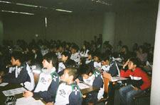 スポーツ選手(サッカー選手)における栄養と食事に関する講演会